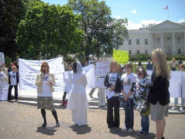 May 2010 Protest at White House Pic #1